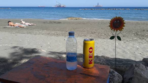 Cyprus cycling holiday - oil exploration - limassol - waiting
