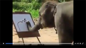 Amazing-Elephant-painting