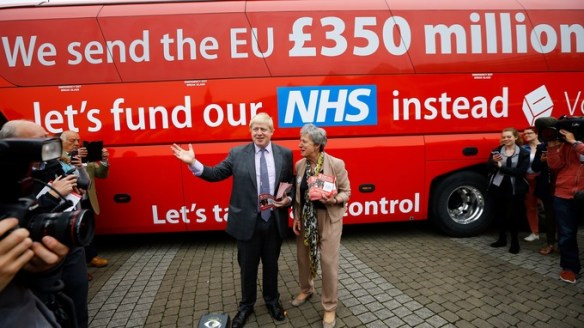 Boris Johnson Brexit Fraud and lies
