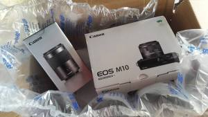 Canon EOS M10 Mirrorless Camera Sensor Size