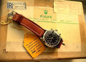 Rolex watches marketing and PR genius - german POW