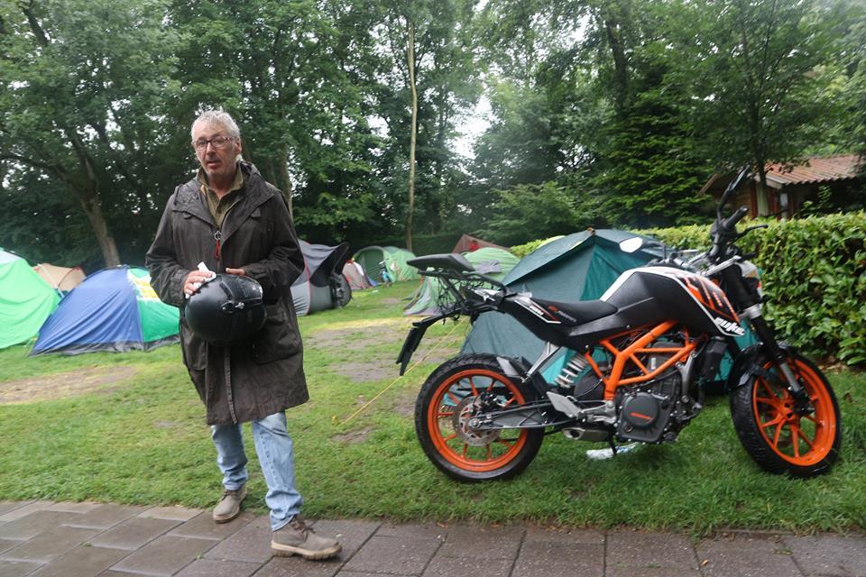 Amsterdam cycling Holland holiday camping