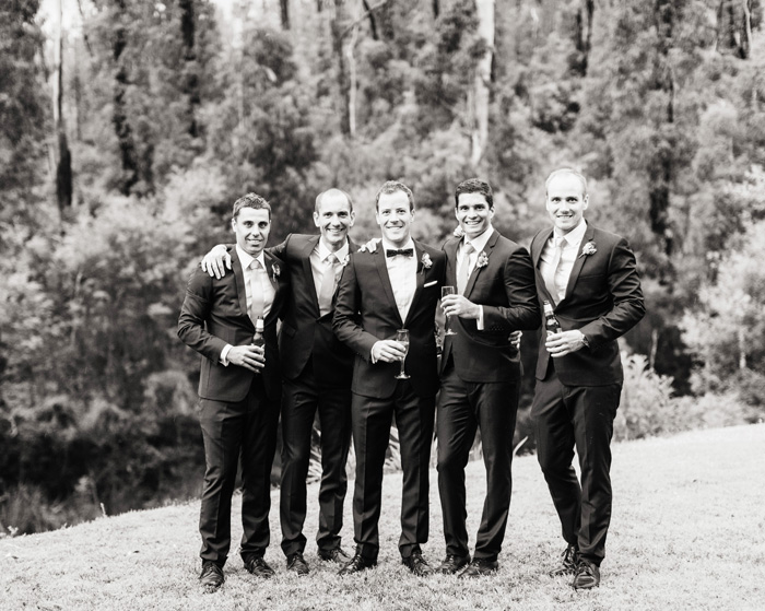groom portraits in Marysville with groomsmen