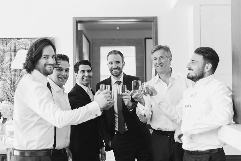 Melbourne Jewish wedding whiskey shots