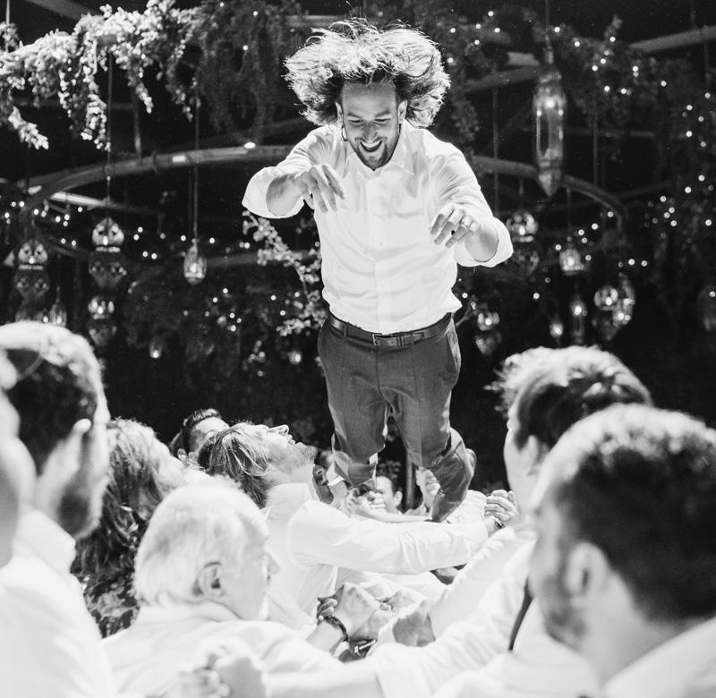 Melbourne Wedding Jewish Hora photography