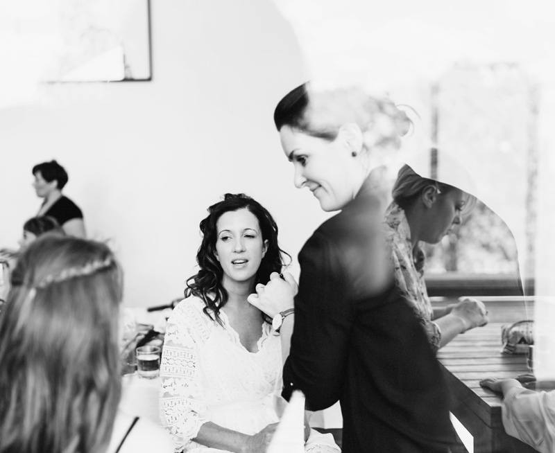 bridal hair and makeup in the yarra valley