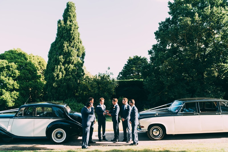 wedding cars in the yarra valley
