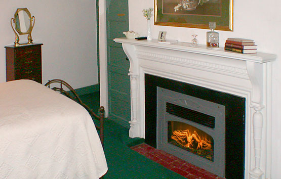 Anna's Room fireplace