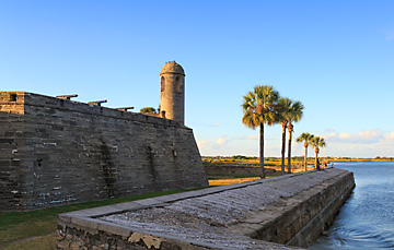 Castillo de San Marcos National Monument bayfront side