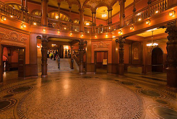 Flagler College hall