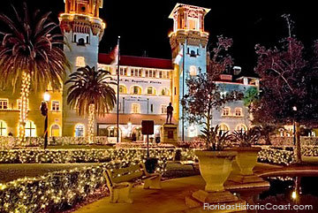 The Lightner Museum during Nights of Lights