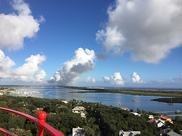 View from top of St. Augustine Lighthouse