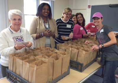 SFA Staff Service Day Packing Lunches