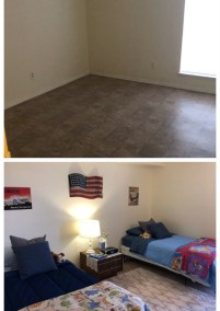Before After Boys Room