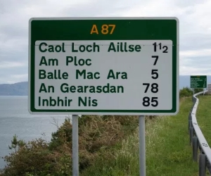 skye bridge sign