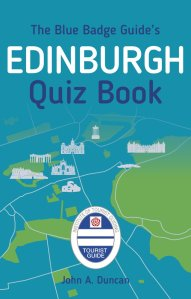 blue badge edinburgh quiz book