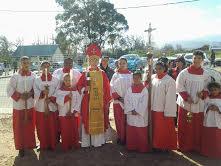 Servers with Bishop Margaret 1