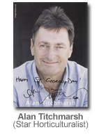 Alan Titchmarsh - Star Horticulturalist
