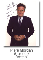 Piers Morgan - Celebrity Writer