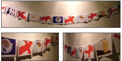 St. George's Day Bunting