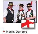 English Morris Dancers bunting