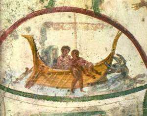 OT scenes od death and resurrection like Jonah and the whale were common in early Christian Art (Pentecost, the third incarnation)