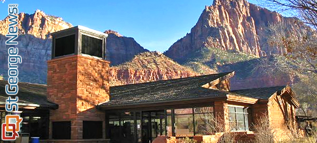 Zion Canyon Visitor Center Parking Lot Project Underway