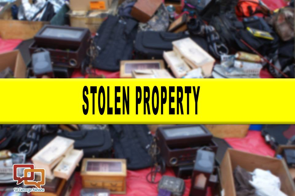 Police Seek To Return Stolen Items To Rightful Owners St George News
