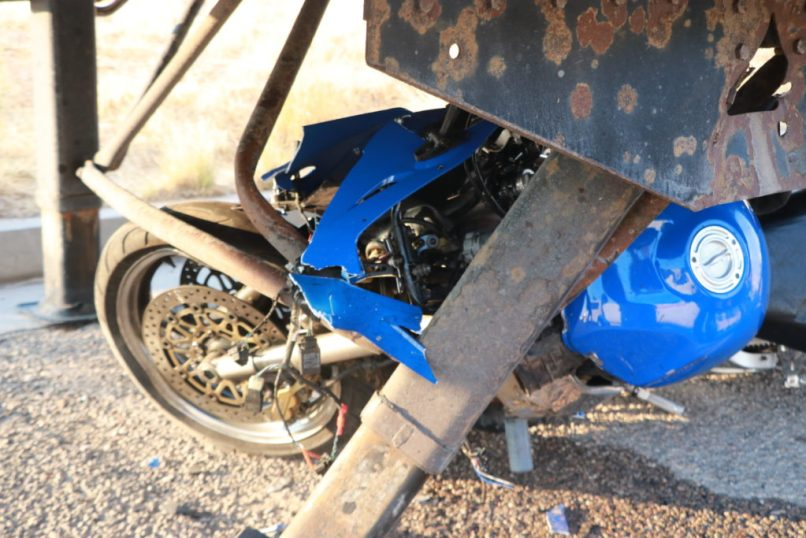 Motorcyclist Injured In Collision With