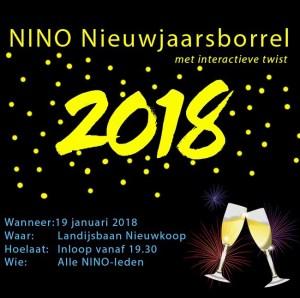 NINO nieuwjaarsborrel @ nieuwkoopse landijsbaan