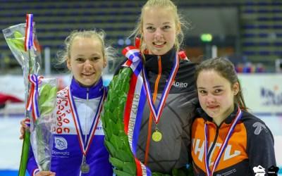 Joni Tersteeg behaalt 2e plaats op het NK shorttrack voor junioren