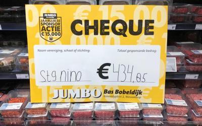 Opbrenst Jumbo sponsoractie