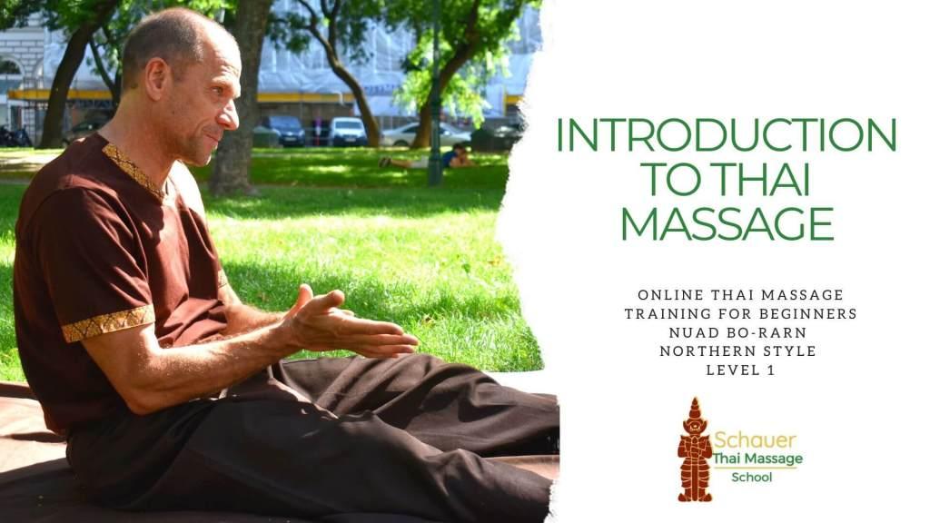 introduction to thai massage