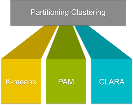 Partitioning clustering methods