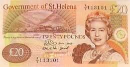 St Helena £20 bank note