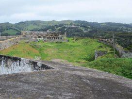 High Knoll Fort interior, St Helena Island