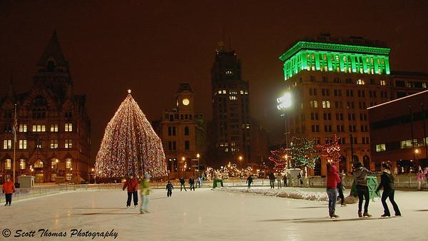 Christmastime in Syracuse.