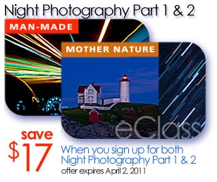 Click Here to Learn about the Night Photography eClasses by Kent Weakley