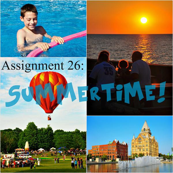 Assignment 26: Summertime!