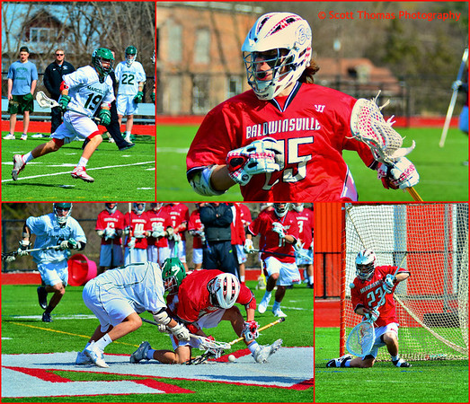 Field Lacrosse collage.