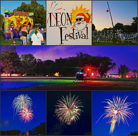 LEON Festival montage at the Onondaga Lake Park in Liverpool, New York.