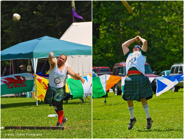 Highland Games at the Cortland Celtic Festival at the Dwyer Memorial Park in Little York, New York.
