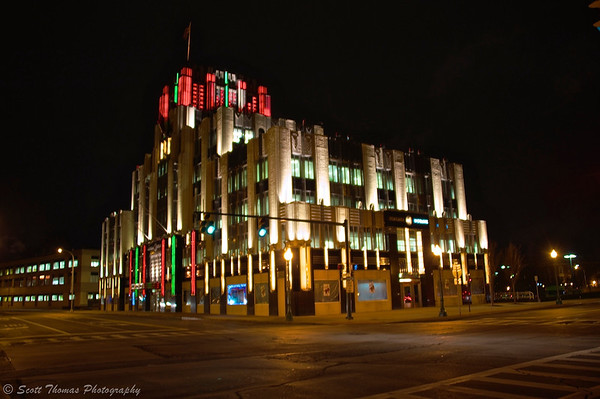 Niagara Mohawk building in Syracuse, New York.