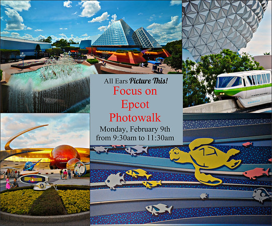 Focus on Epcot Photowalk