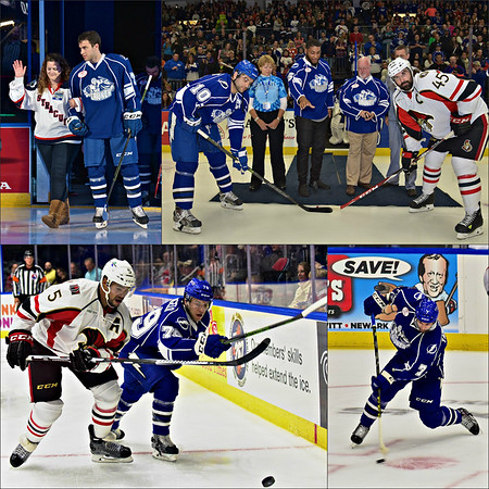 Photos from the 22nd Home Opener for the Syracuse Crunch Hockey Club at the War Memorial Arena in Syracuse, New York on Saturday, October 17, 2015.