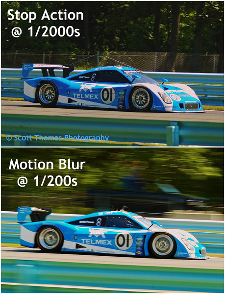 Stop Action versus Motion Photography