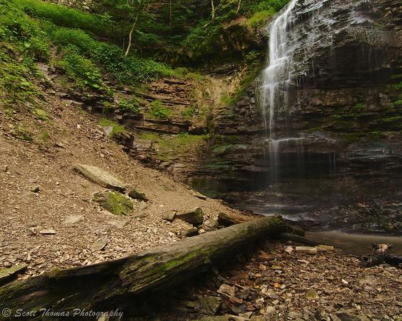 Tiffany Falls near Hamilton, Ontario, Canada.