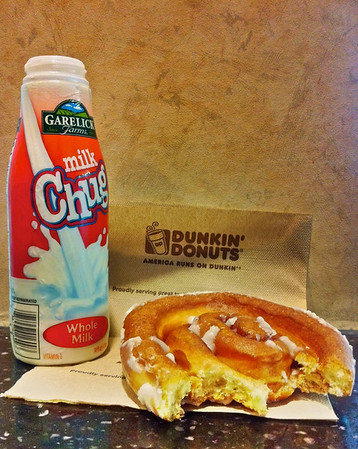 Milk and Coffee Bun