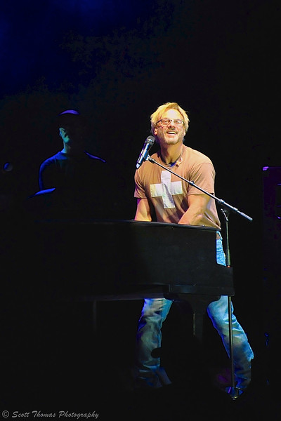 Phil Vassar performing at Chevrolet Court during The Great New York State Fair in Syracuse, New York.