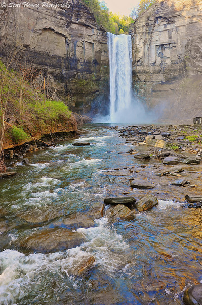Taughannock Falls State Park near Ithaca, New York without a Neutral Density filter.